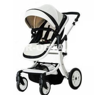 Детская коляска Aimile 2 в 1 Экокожа